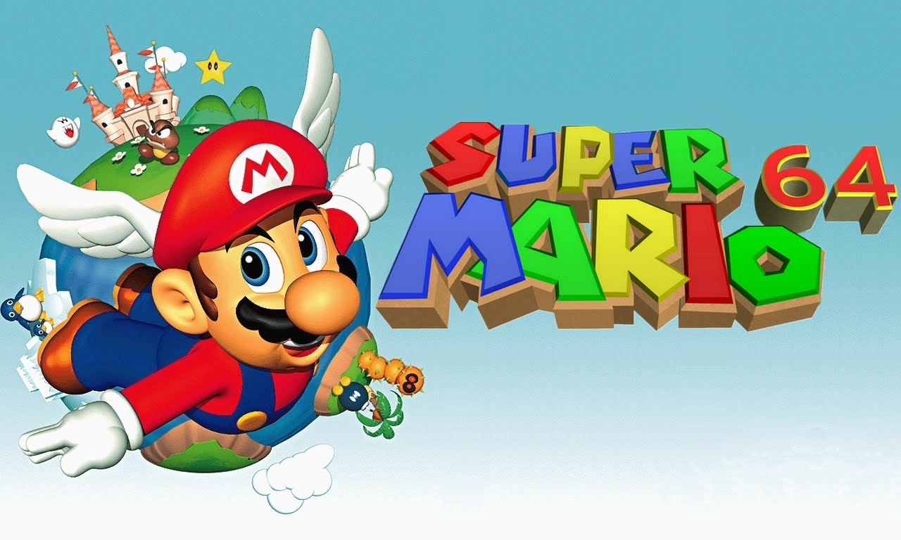 Super Mario 64 em HD para Navegadores