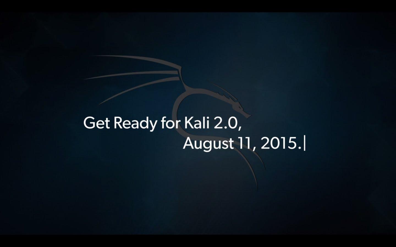 Kali Linux 2.0 já tem data para o lançamento